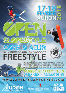 AFFICHE OPEN FREESTYLE-2018 - A1